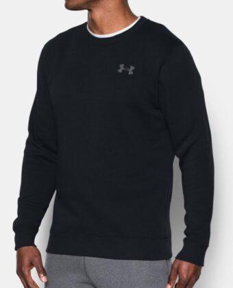 Bluza męska UNDER ARMOUR Rival Fleece Crew 1302854 czarna