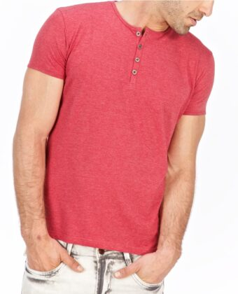 Koszulka polo męska LANIERI czerwona