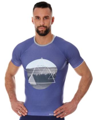 Koszulka termoaktywna męska niebieska CITY AIR BRUBECK®