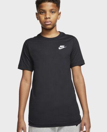 Koszulka chłopięca NIKE AR5254-010 czarna