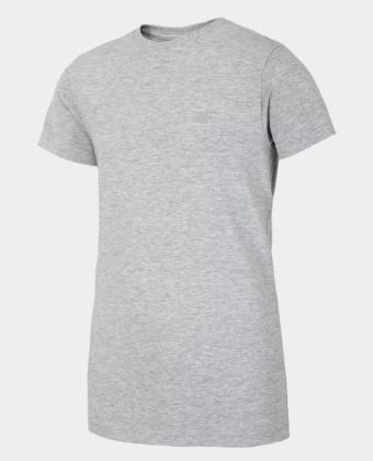 Koszulka chłopięca 4F JTSM023B szara