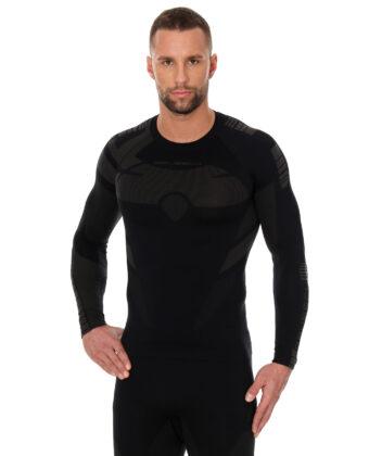 Bluza termoaktywna męska DRY BRUBECK® czarna