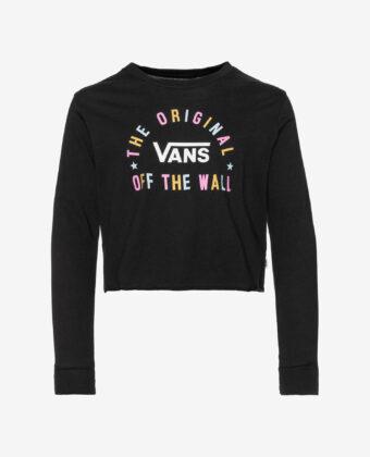Koszulka longsleeve dziewczęca VANS Carro Sel czarna