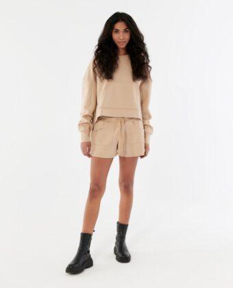 Bluza damska OUTHORN BLD616 beżowa
