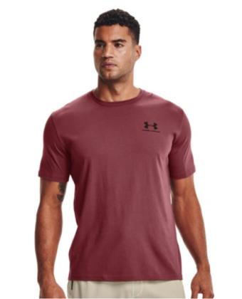 Koszulka męska UNDER ARMOUR 1326799 bordowa