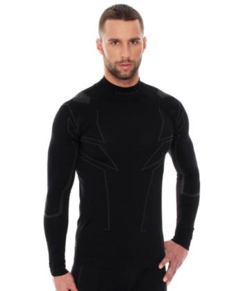Bluza termoaktywna męska COOLER BRUBECK® czarna