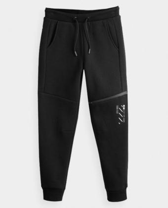 Spodnie chłopięce 4F JSPMD203A czarny