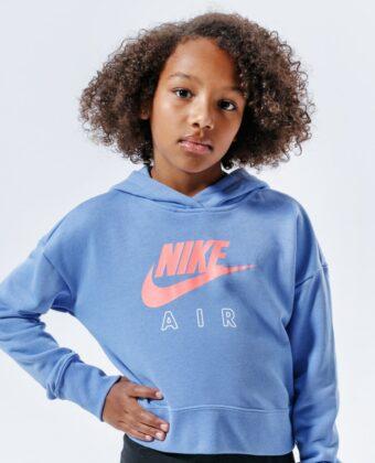Bluza dziewczęca NIKE CZ6234-478 niebieska
