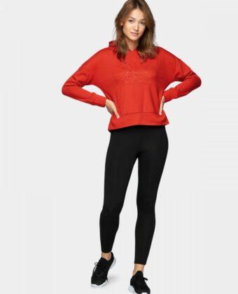 Bluza damska OUTHORN BLD614 czerwona