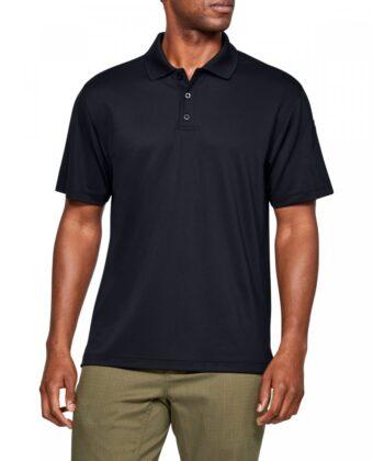 Koszulka męska UNDER ARMOUR Tech Polo Performance 1279759 czarna