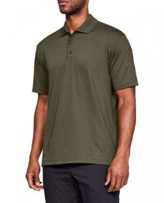 Koszulka męska UNDER ARMOUR Tech Polo Performance 1279759 khaki