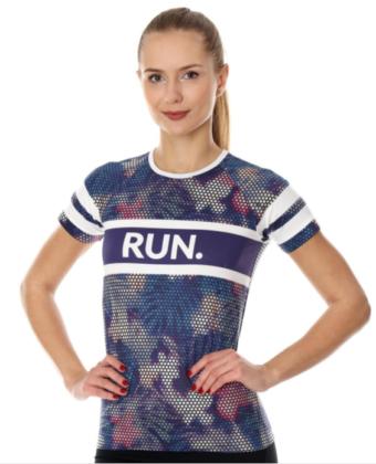 Koszulka termoaktywna damska fioletowa ATHLETIC RUNNING AIR BRUBECK®