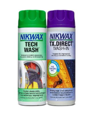 Zestaw TechWash + Tx.Direct 2×300 ml NIKWAX