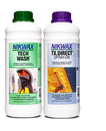 Zestaw TechWash + Tx.Direct 2×1000 ml NIKWAX