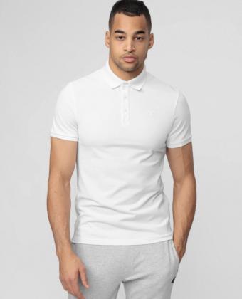 Koszulka polo męska 4F TSM008 biała