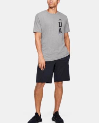 Koszulka męska UNDER ARMOUR 1352043 szara