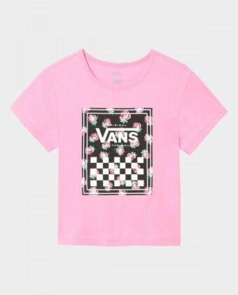 Koszulka dziewczęca VANS Boxed Rose różowa