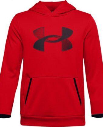Bluza chłopięca UNDER ARMOUR 1357577 czerwona