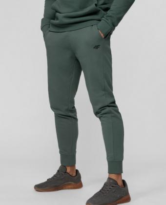 Spodnie dresowe męskie 4F SPMD306 khaki