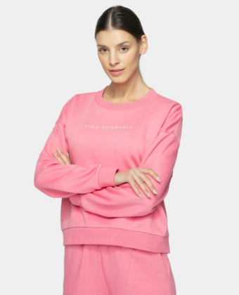 Bluza damska 4F BLD244 różowa