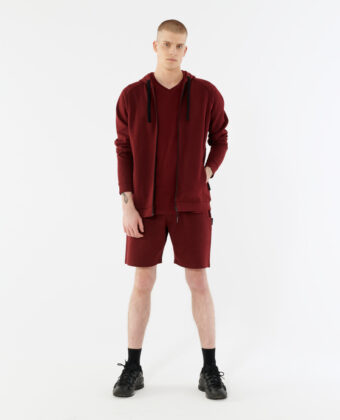 Bluza męska OUTHORN BLM627 bordowa