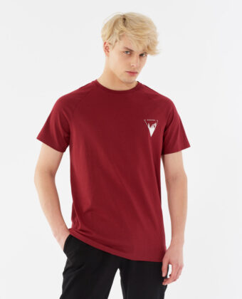 Koszulka męska OUTHORN TSM642 bordowa