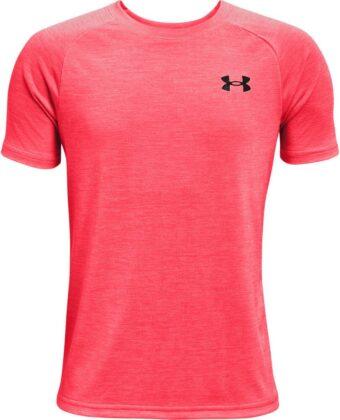 Koszulka chłopięca funkcyjna UNDER ARMOUR Tech 2.0 SS 1363284 pomarańczowa