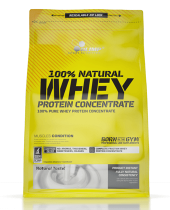 Olimp 100% Natural Whey Protein Concentrate – 700g