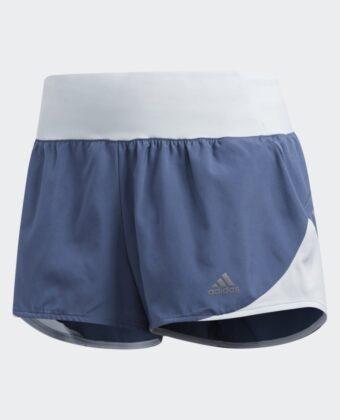 Spodenki ADIDAS Run It Short W DZ2256 niebieskie