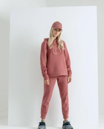 Spodnie dresowe damskie 4F X ANNA LEWANDOWSKA SPDD001 różowe