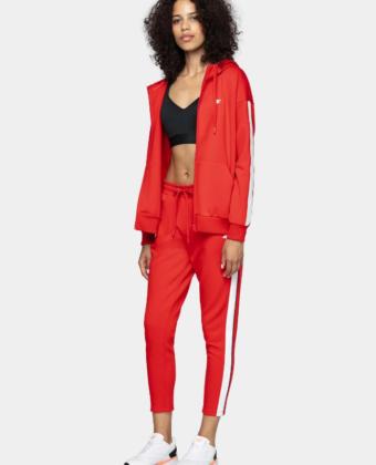 Spodnie dresowe damskie 4F SPDD012 czerwone