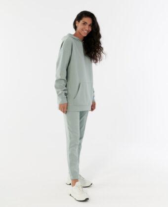 Spodnie dresowe damskie OUTHORN SPDD606 turkusowe