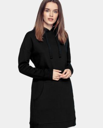 Sukienka z kapturem 4F SUDD011 czarna