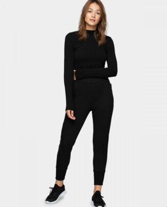 Spodnie dresowe damskie OUTHORN SPDD606 czarne