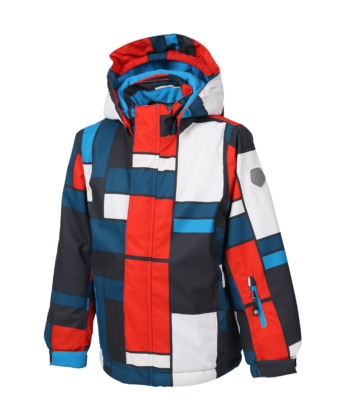 Kurtka chłopięca narciarska COLOR KIDS 104095 multikolor