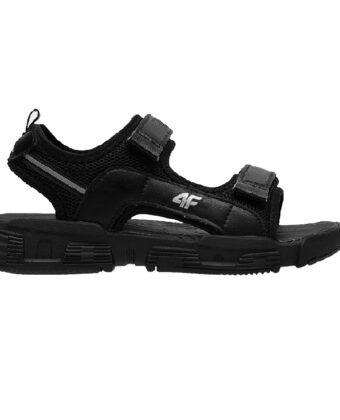 Sandały sportowe 4F JSAM002 czarne