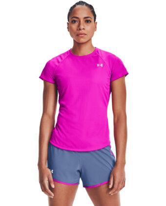 Koszulka UNDER ARMOUR Speed Stride 1326462 różowa