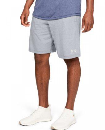 Spodenki męskie UNDER ARMOUR  Sportstyle Cotton Shorts 1329299 szare