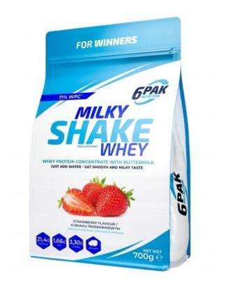 6PAK Milky Shake Whey 700g