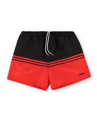 Spodenki męskie PROSTO Shorts Striz czerwone