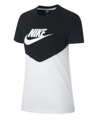 Koszulka damska NIKE Nsw Hrtg Top BQ9555 czarno-biała