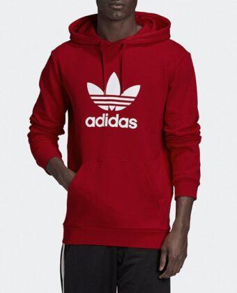 Bluza męska ADIDAS Originals Trefoil Hoodie GD9924 czerwona