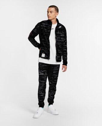 Bluza męska NIKE CJ PK Track Jacket CZ7556 czarna
