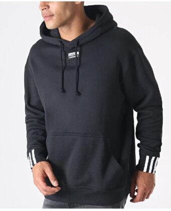 Bluza męska ADIDAS R.Y.V. Hoody EJ7424 czarna