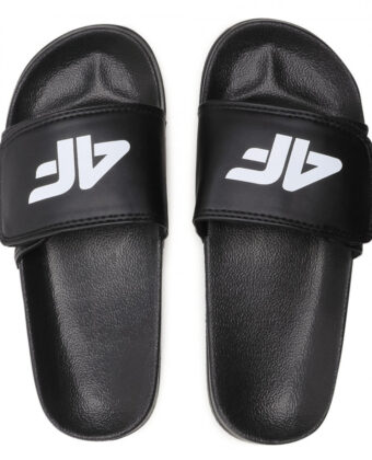 Klapki chłopięce 4F JKLM001 czarne