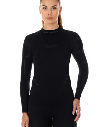 Bluza termoaktywna damska THERMO BRUBECK® czarna