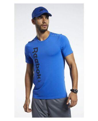 Koszulka treningowa REEBOK FK6172 niebieska
