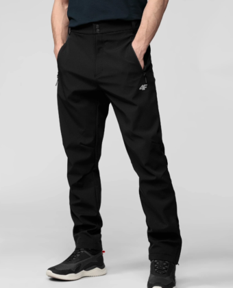Spodnie trekkingowe męskie 4F SPMT001 czarne