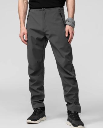 Spodnie trekkingowe męskie 4F SPMT001 grafitowe