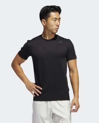 Koszulka treningowa ADIDAS TECH FITTED TEE FL4333 czarne